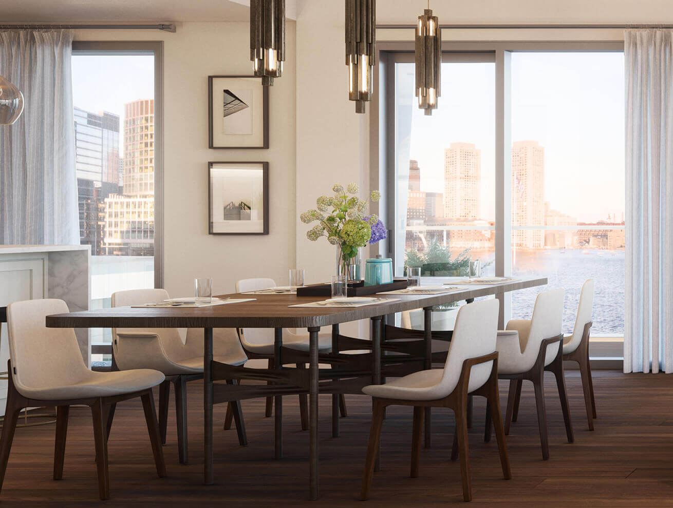 New luxury condominiums in seaport Boston | PIER 4 by Tishman Speyer