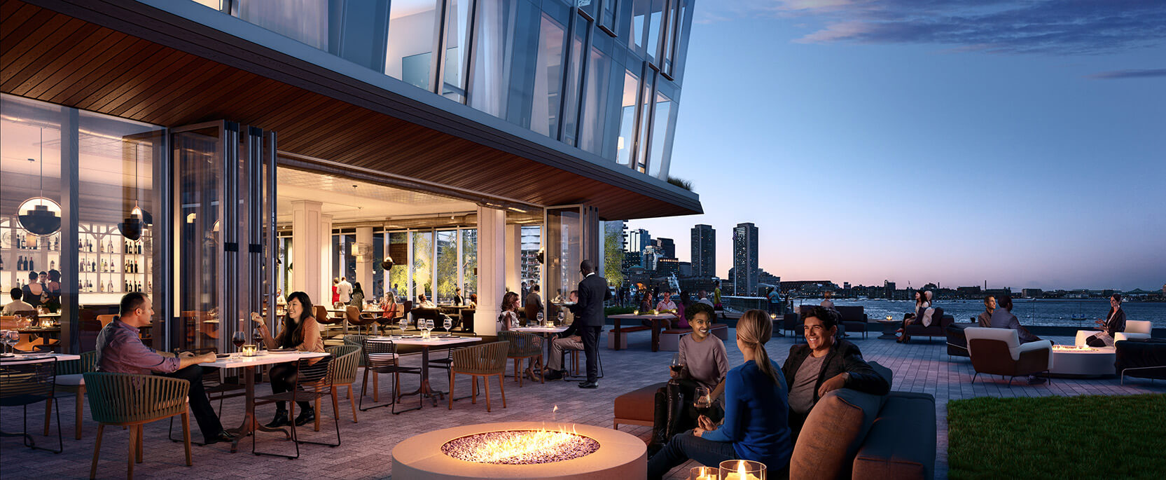 PIER 4 Restaurant Boston Exterior by Tishman Speyer